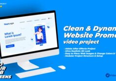Videohive Dynamic & Clean Website Promo Video 33265819