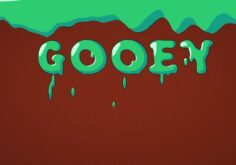 Videohive Flat Gooey Letters 22708864