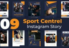 Videohive Sport Centre Instagram Story Pack 33221674